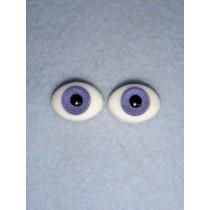 |Doll Eye - Flat Back Glass - 10mm Lavender