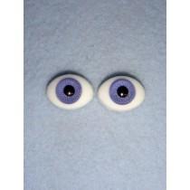  Doll Eye - Flat Back Glass - 14mm Lavender