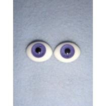  Doll Eye - Flat Back Glass - 16mm Lavender
