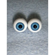 |Doll Eye - German Crystal Acrylic - 10mm Blue