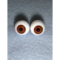 |Doll Eye - German Crystal Acrylic - 10mm Brown