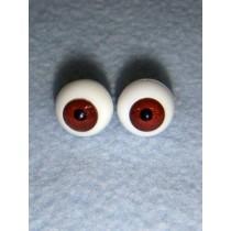 |Doll Eye - German Crystal Acrylic - 10mm Dark Brown