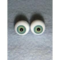 |Doll Eye - German Crystal Acrylic - 10mm Green