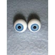 |Doll Eye - German Crystal Acrylic - 10mm Light Blue
