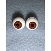 |Doll Eye - German Crystal Acrylic - 8mm Brown