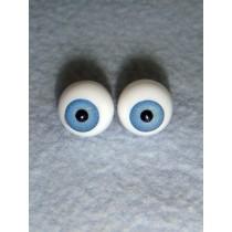 |Doll Eye - German Crystal Acrylic - 8mm Light Blue