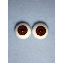  Doll Eye - Karl's Glass - 14mm Brown