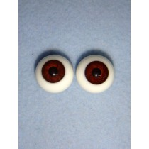  Doll Eye - Karl's Glass - 22mm Brown