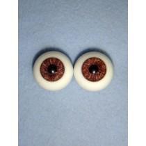  Doll Eye - Karl's Natural-Looking Glass - 18mm Deer Brown