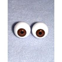  Doll Eye - Krystal - 18mm Med Brown