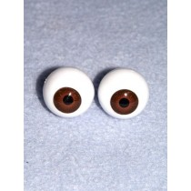  Doll Eye - Krystal - 20mm Med Brown