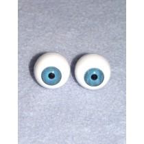  Doll Eye - Krystal - 22mm Med Blue