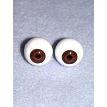  Doll Eye - Krystal - 22mm Med Brown