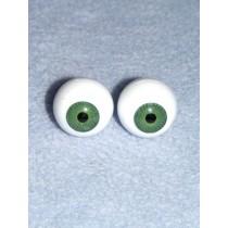  Doll Eye - Krystal - 22mm Med Green