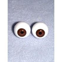  Doll Eye - Krystal - 8mm Med Brown