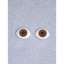  Doll Eye - Paperweight - 10mm Brown