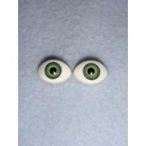  Doll Eye - Paperweight - 10mm Green