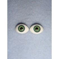  Doll Eye - Paperweight - 8mm Green