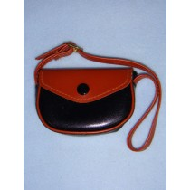 "|Doll Purse - 3"" Brown_Black"
