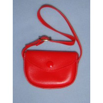 "|Doll Purse - 3"" Red"