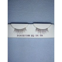 |Eyelash - Natural - Dark Brown
