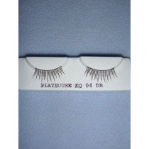 |Eyelashes - Natural - Dark Brown