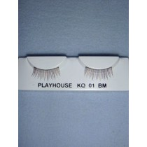 |Eyelash - Natural - Multi-Brown