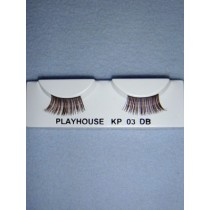 |Eyelashes - Dark Brown