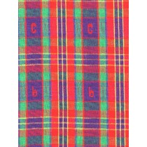 |Fabric -ABC Plaid-Red Blue & Green