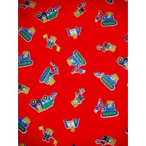 |Fabric -Construction Mice Corduroy