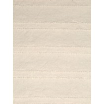"|Fabric - Chenille Cut - Ecru 18""x30"