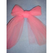 |Fabric - Tulle - Pink 1 Yd