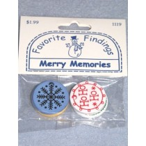 "|Favorite Findings - 1"" Merry Memories Tags - pkg_6"