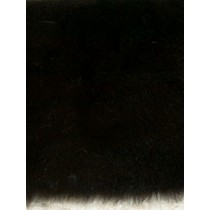 |Feather Fur Fabric -Black 1 Yd