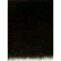 |Feather Fur Fabric -Black 1 Yd
