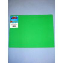 "|Foamies Craft Foam - Green 9""x12"""
