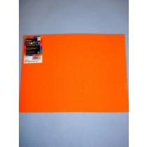 "|Foamies Craft Foam - Orange 9""x12"""
