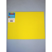 "|Foamies Craft Foam - Yellow 9""x12"""