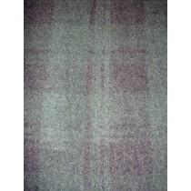  Fur Fabric - Extra Short - Green_Black Plaid