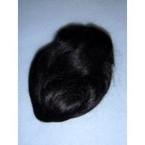 |Hair - English Mohair - Black - 1 Yd