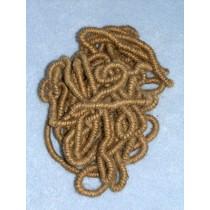 "|Hair - Small Curly Jute - Pkg_4 - 60"" Lengths"