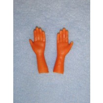 "|Hands - 1 7_8"" Dark - 12 pair"