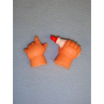 "|Hands for 3"" Bottle Dolls"