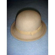"|Hat - 100% Wool - 15 1_2"" Beige"