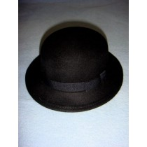 "|Hat - 100% Wool - 15 1_2"" Black"