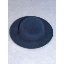 "|Hat - Flocked Sunday - 3 3_4"" Royal Blue"