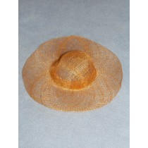 "|Hat - Sinamay - 8"" Orange"