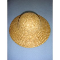 "|Hat - Straw - 9 1_2"" Natural"