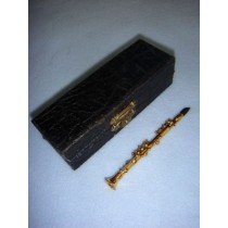 "|Instrument - Smaller Clarinet - 4"" Brass"