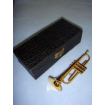 "|Instrument - Trumpet - 5"" Brass"